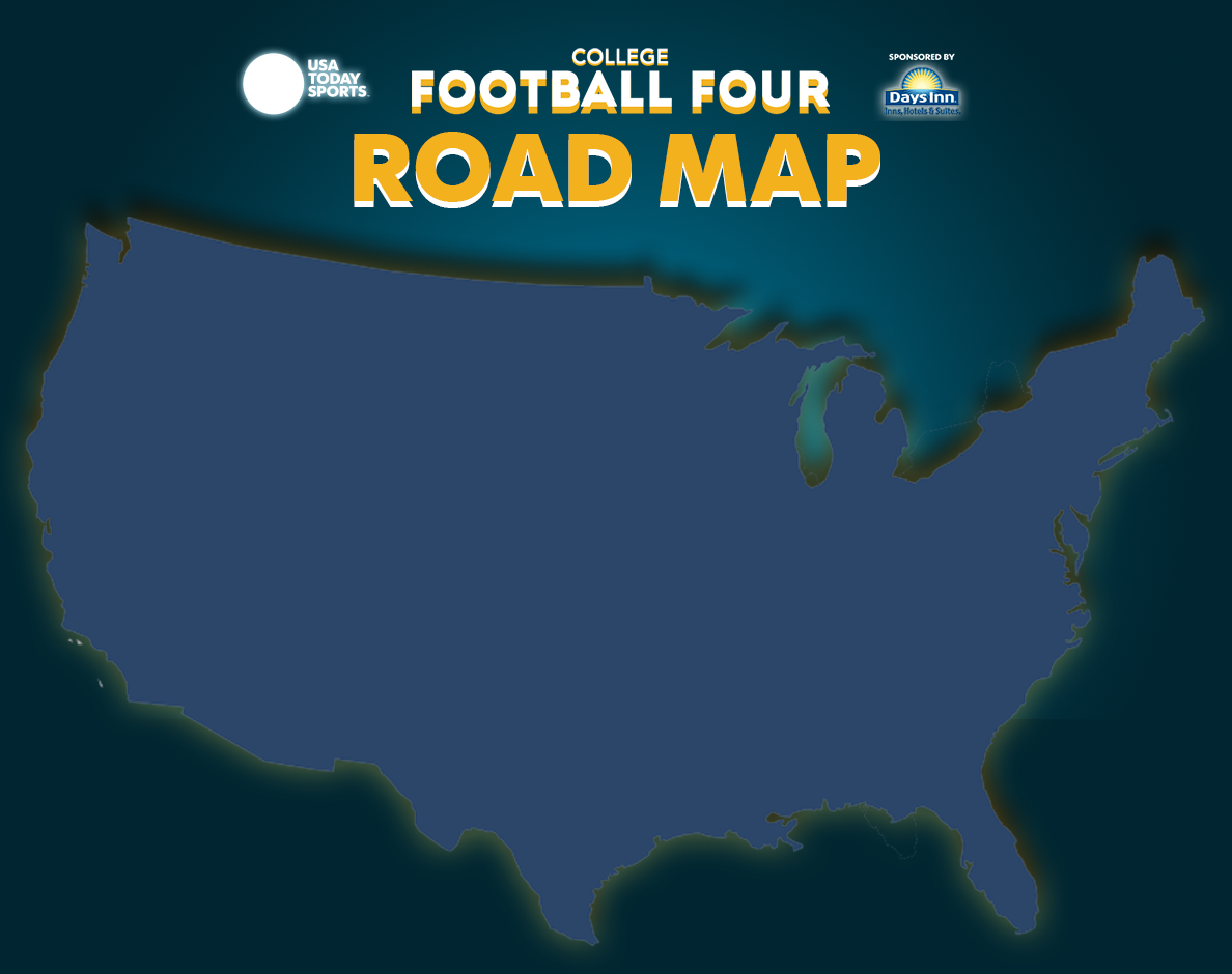 Road Map to college football\'s Week 3